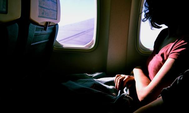 окошко самолета