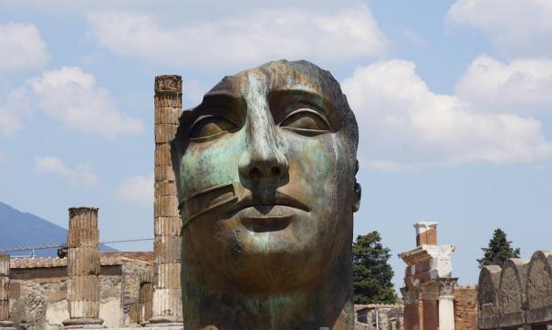 лицо древнего человека