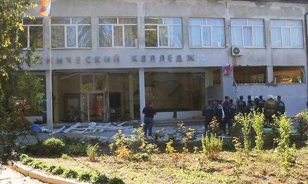 Названа основная версия причины массового убийства в Керчи