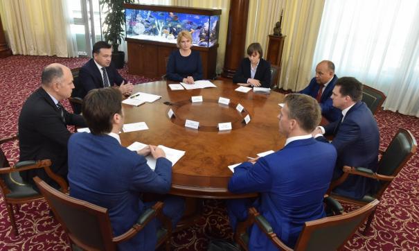 Губернатор Московской области и глава Почты России обсудили модернизацию почтовых отделений