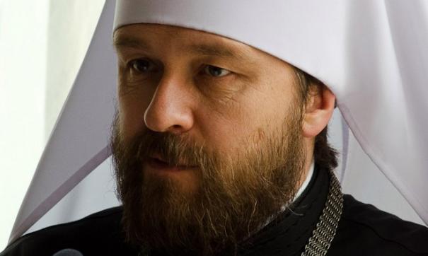 Иларион: РПЦ не признает решения Константинопольского патриархата