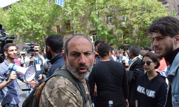 Никол Пашинян объявил об уходе с поста премьера Армении