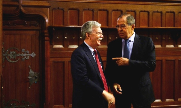 Советник Трампа обсудил с Лавровым и Патрушевым позицию США по ДРСМД