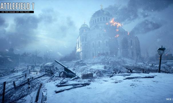 В игре Battlefield 1 рассказали о подвиге однорукого командира танка в Волгограде