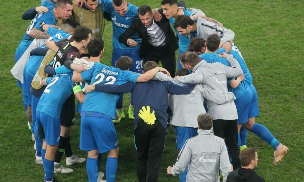 Зенит выходит в плей-офф Лиги Европы