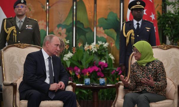 Халима Якоб и Путин