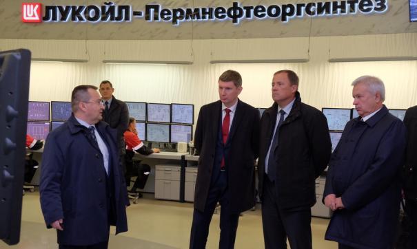 Полпред в ПФО Комаров побывал с рабочим визитом в Перми