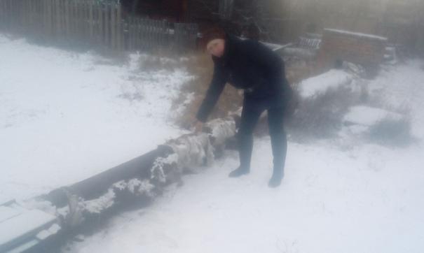 В иркутской Вихоревке без воды остались жилые дома, детсады и больница