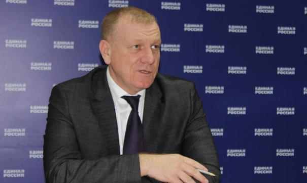 секретарь Единой России Волгоградской области Сергей Горняков