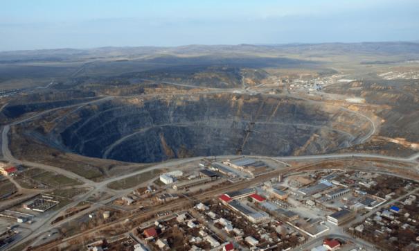 По словам работников карьера, процесс окисления руды начался в конце 2017 года
