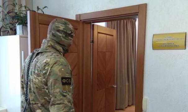 Обыск в кабинете мэра Нефтеюганска