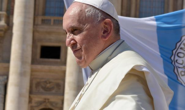Понтифик презентовал сайт во время традиционной воскресной проповеди