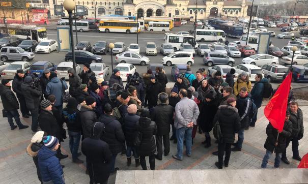 «Мы хотим, чтобы наши дети росли здоровыми!» Во Владивостоке прошел митинг против «ядерного могильника»