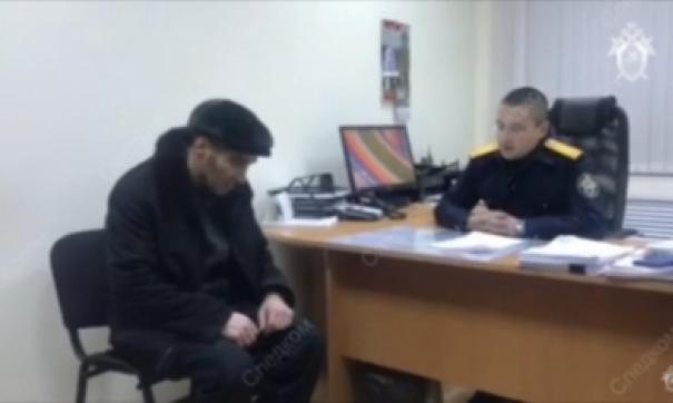 Задержанный Павел Шаповалов на допросе