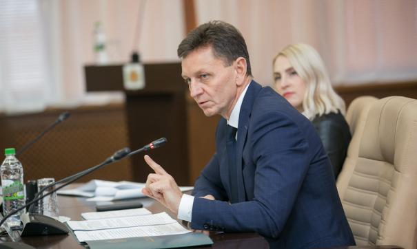 Владимир Сипягин отчитается о работе на посту губернатора 18 января