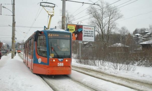 Трамвай вышел из-под контроля.