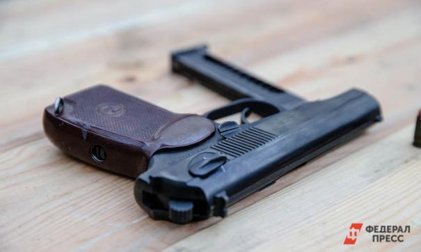 гибель от огнестрельного ранения