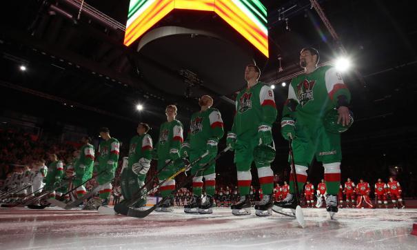Уральские хоккеисты помогли сборной Харламова завоевать бронзовые медали Матча Звёзд КХЛ
