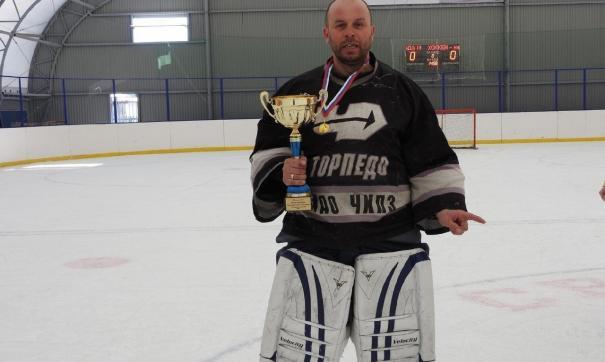 Хоккеист Виктор Воронцов