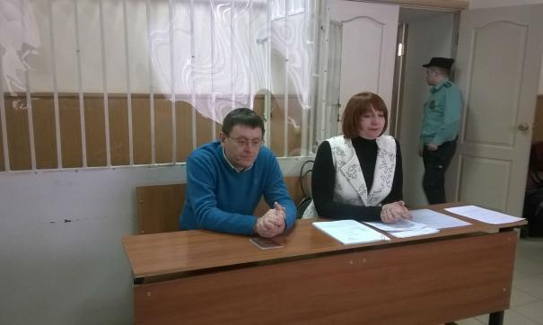 Экс-замгубернатора  Сергей  Чебыкин  впервые на скамье подсудимых