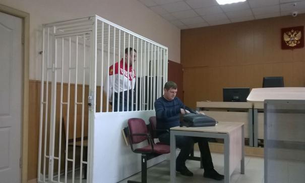 Владимир Рыжук в зале Курганского городского суда
