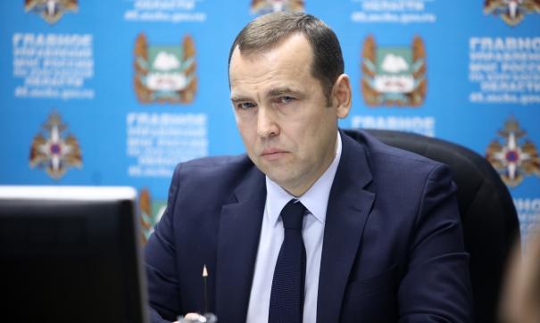 Врио губернатора Курганской области Вадим Шумков
