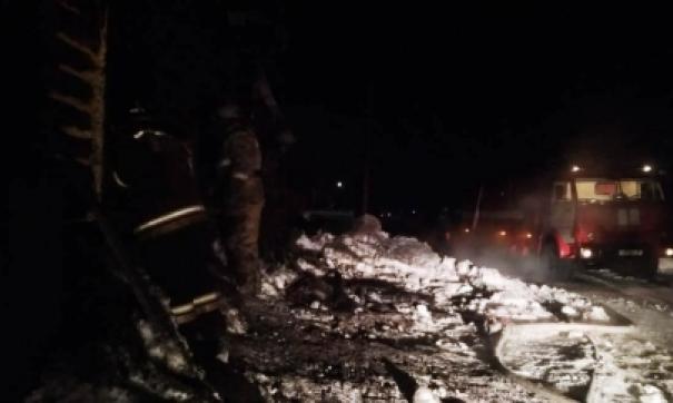 В Зауралье в пожаре сгорели трое детей и женщина