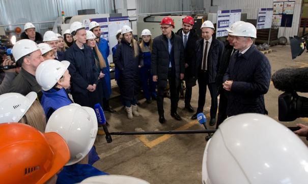 Борис Дубровский посетил предприятие «Анеко»