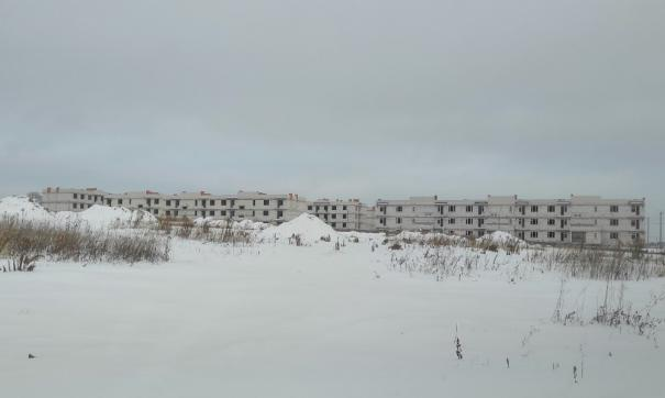 Свои квартиры ждут около 1800 семей