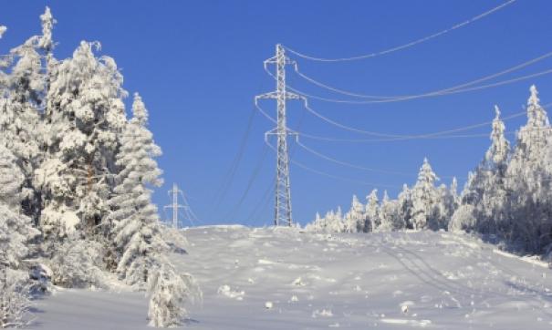 Причиной аварийного отключения линии электропередачи стало обледенение проводов