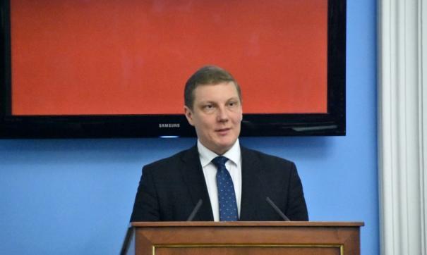 Агеев выступил с докладом на пленарке гордумы