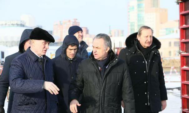 Виталий Мутко посетил Челябинск