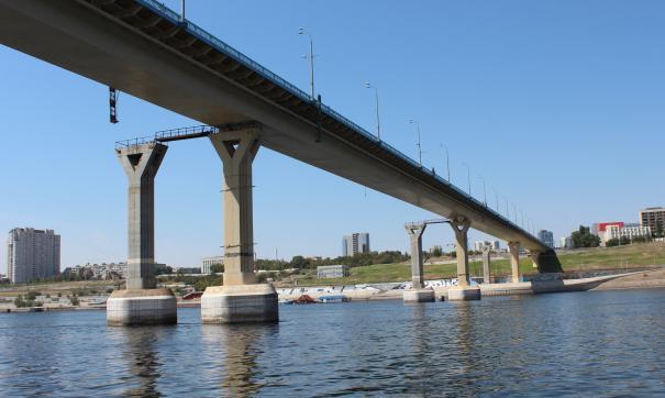 мост в Волгограде