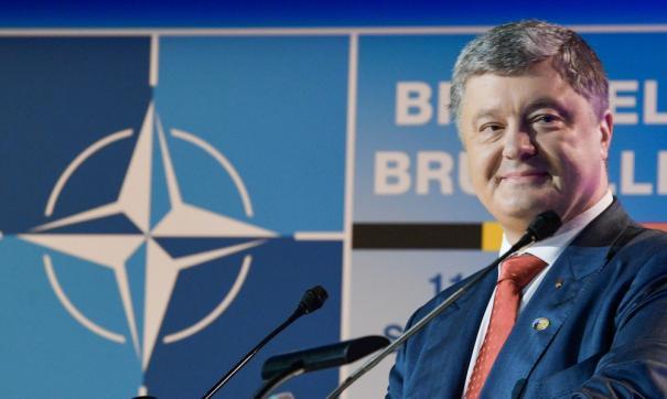 Порошенко выступил в ОНН