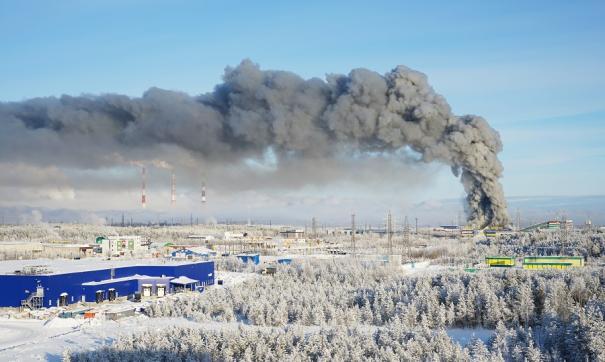 Из мебельного центра Сургута всех эвакуировали
