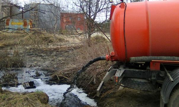 В Югорске заморозили канализацию