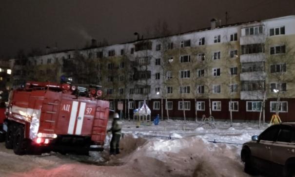 Жильцы пятиэтажки успели эвакуироваться