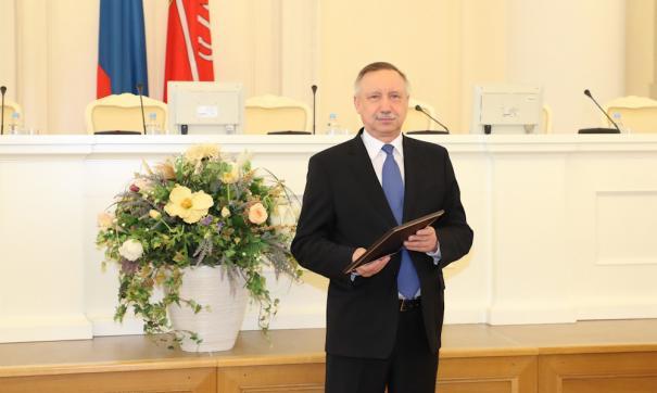 Александр Беглов поздравил финалистов