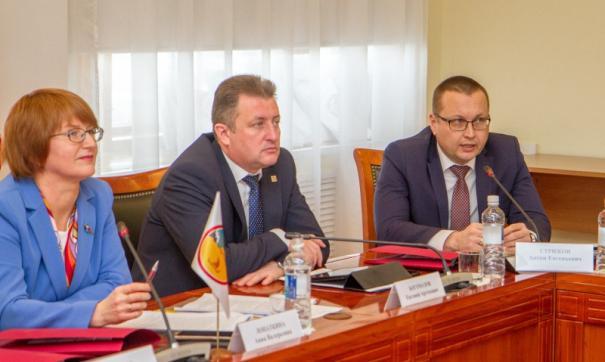 В вологодском заксобрании прошло заседание Парламентской ассоциации Северо-Запада России