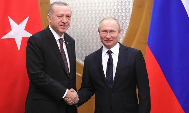Путин увидел в Эрдогане союзника по решению сирийской проблемы