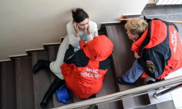 В Москве произошло лже-минирование бизнес-центра