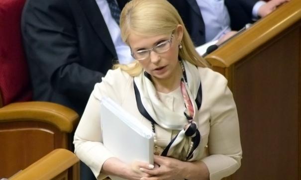Юлия Тимошенко собирается забрать Крым у России