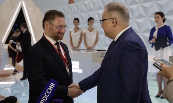 Глава РМК Всеволод Левин и руководитель ФСК Андрей Муров
