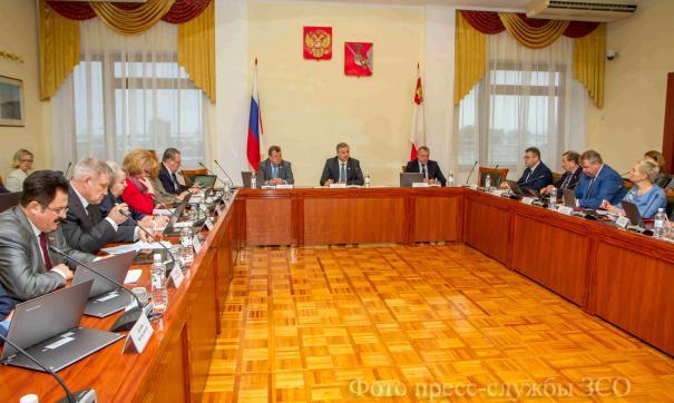 Депутаты заксобрания Вологодской области обсудили предстоящую сессию