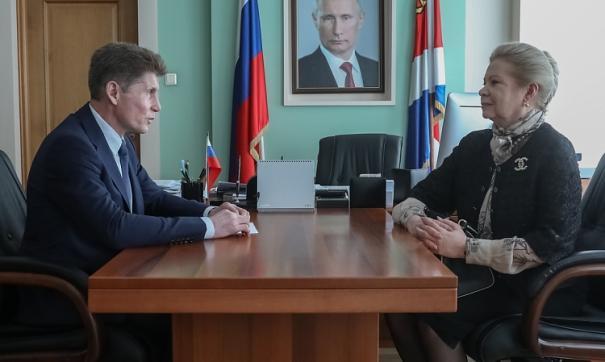 В Приморье построят филиал Московской академии хореографии