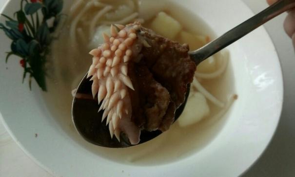 В школе Юргамыша сварили суп из кусочков птеродактиля