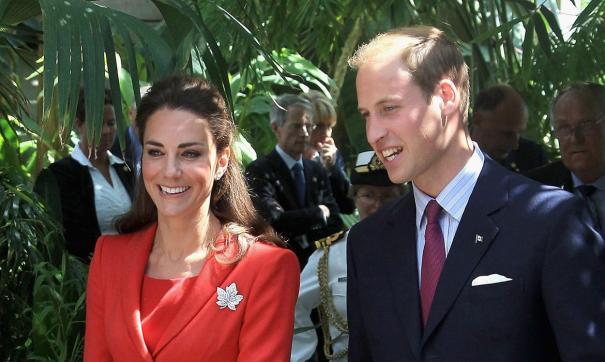 Кейт Миддлтон и принц Уильям третий год подряд не упускают возможности насладиться шоу