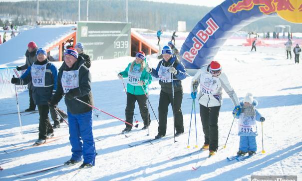 В этом году массовый лыжный забег проходит в 37 раз