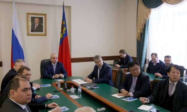 Сергей Цивилев встретился с делегацией корейской компании