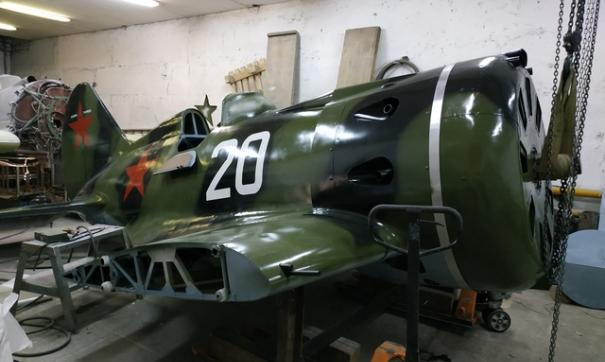 Над реконструкцией истребителя трудились полгода
